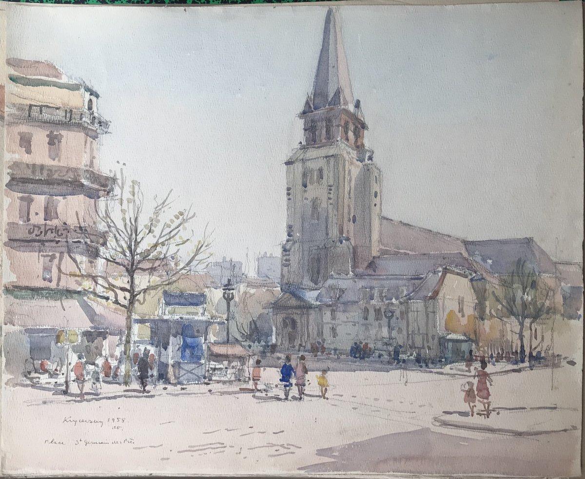 Nicolas Krycevsky Николай Крицевский Saint Germain Des Prés Square