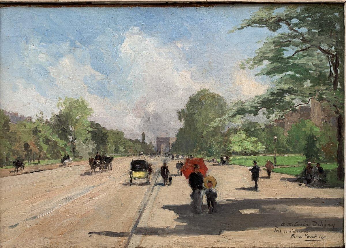 Pierre Louis Léger Vauthier (1845-1916) l'Avenue Foch Paris