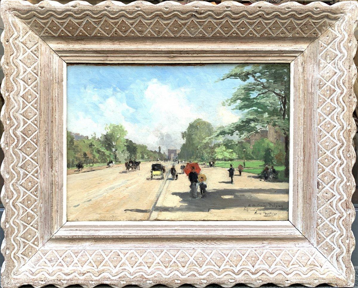 Pierre Louis Léger Vauthier (1845-1916) Avenue Foch Paris