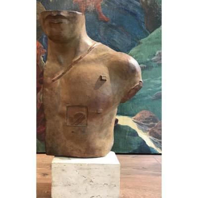 Igor Mitoraj Polish Sculpture Asclépios Poland Bronze