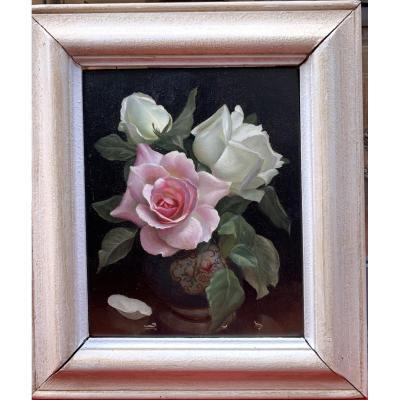 Irene Klestova Bouquet de Roses  Russe