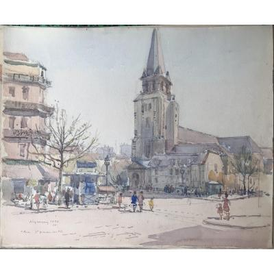Nicolas Krycevsky Николай Крицевский Place Saint Germain Des Prés