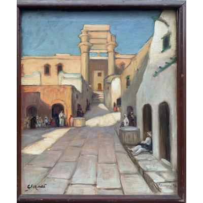 Georges C. Michelet (1873-?) Vue De Palmyre,  Syrie, 1932  تدمر / tadmur
