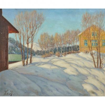 Lwoff Piotr Ivanovitch Lvoff Петр Иванович Львов Russian Russian Snowy Landscape
