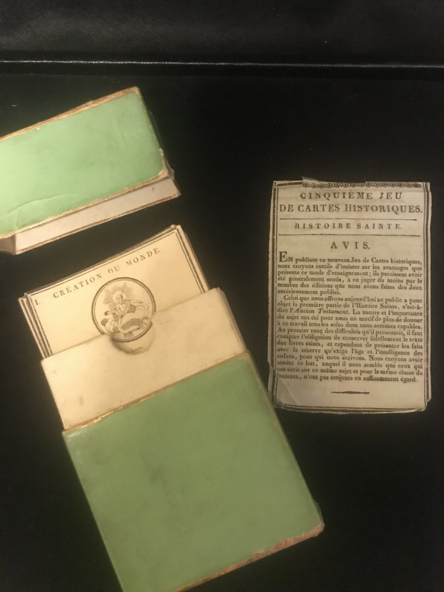 19th Century 'world Creation' Playing Cards