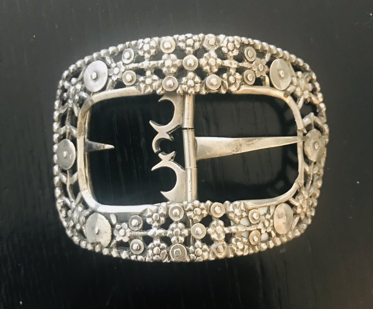 Silver Belt Buckle Eighteenth Century