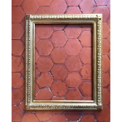 Delf Golden Wood Frame