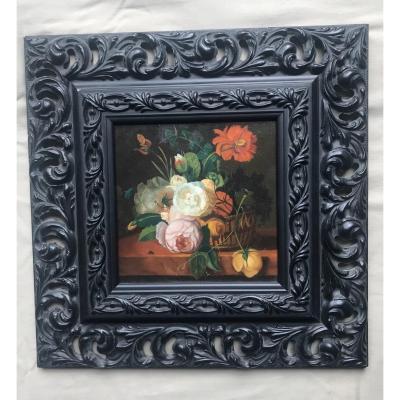 Bouquet De Fleurs Dans Le Goût De XVIIIe