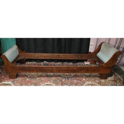 Mahogany Restoration Period Children's Bed
