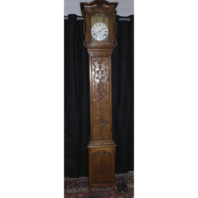 Horloge De Parquet 19 ème Siècle