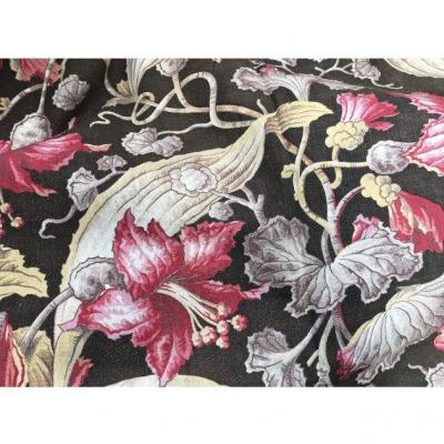 Large Napoleon III Fabric Panel