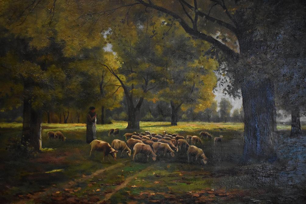 "Leon Grand, ""la Châtaignerie"", 1921, Ecole De Crozant"