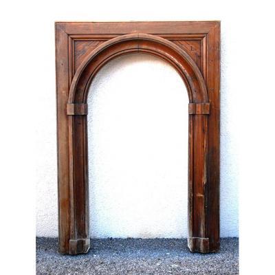 Elément De Boiserie, Alcôve, Arche, Elément d'Architecture, XIXème