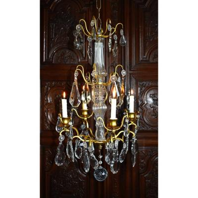 Cristal Chandelier , For Candles