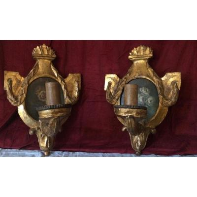 Pair Of Arms Of Light Italy XVIII