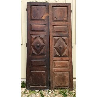 Two Pairs Of 18th Century Doors