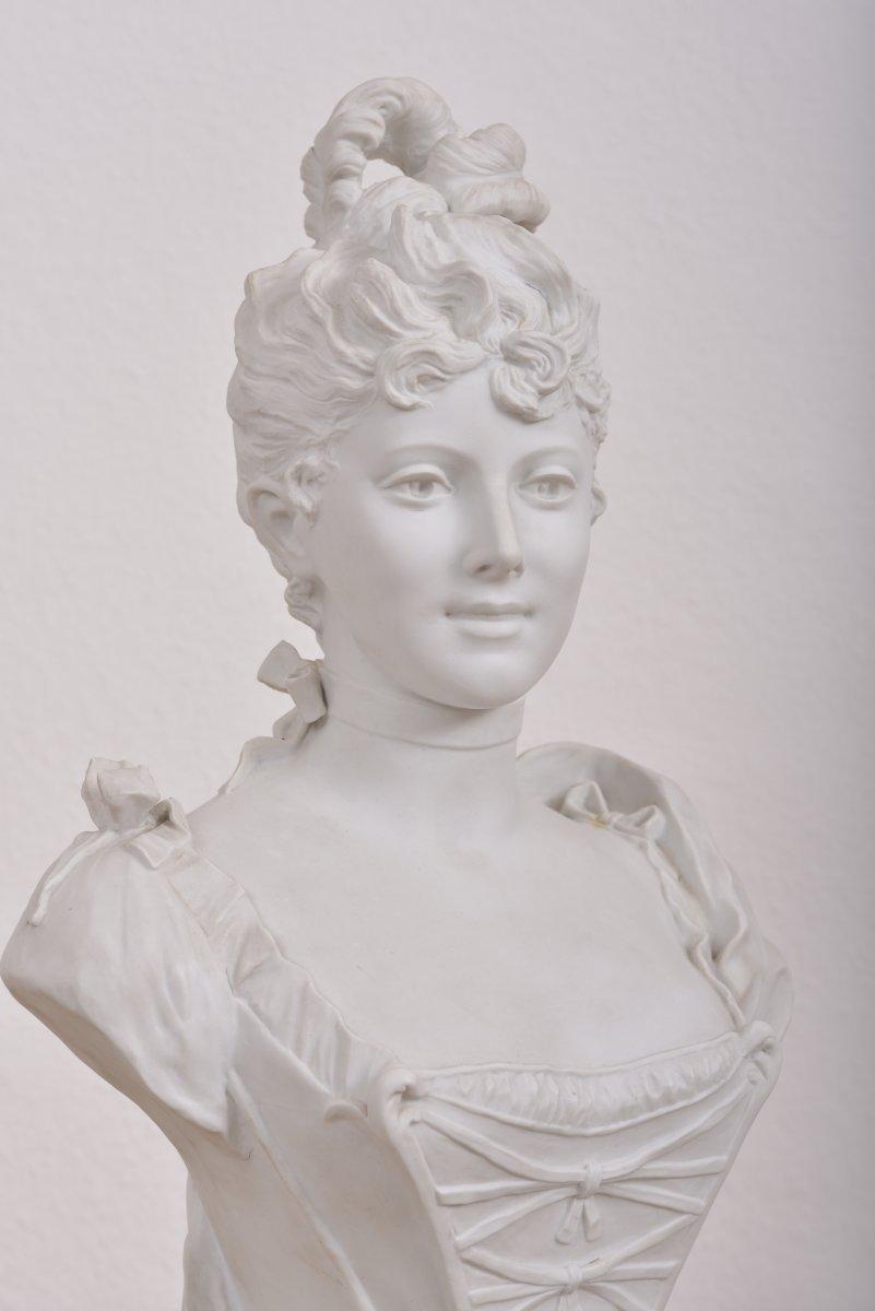 Imposant Buste Signé G.levy 1820-1889.