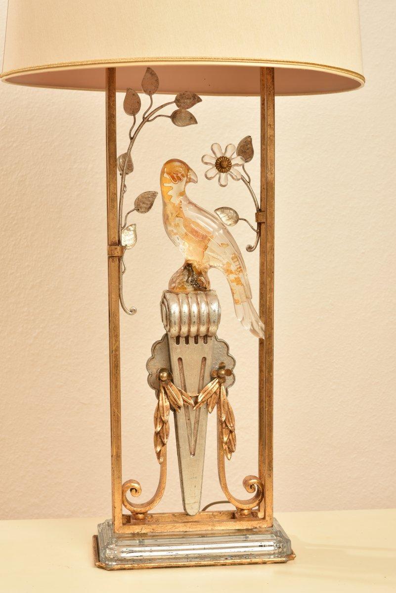 Lampe Au Perroquet. Italie. Banci. Année 60.