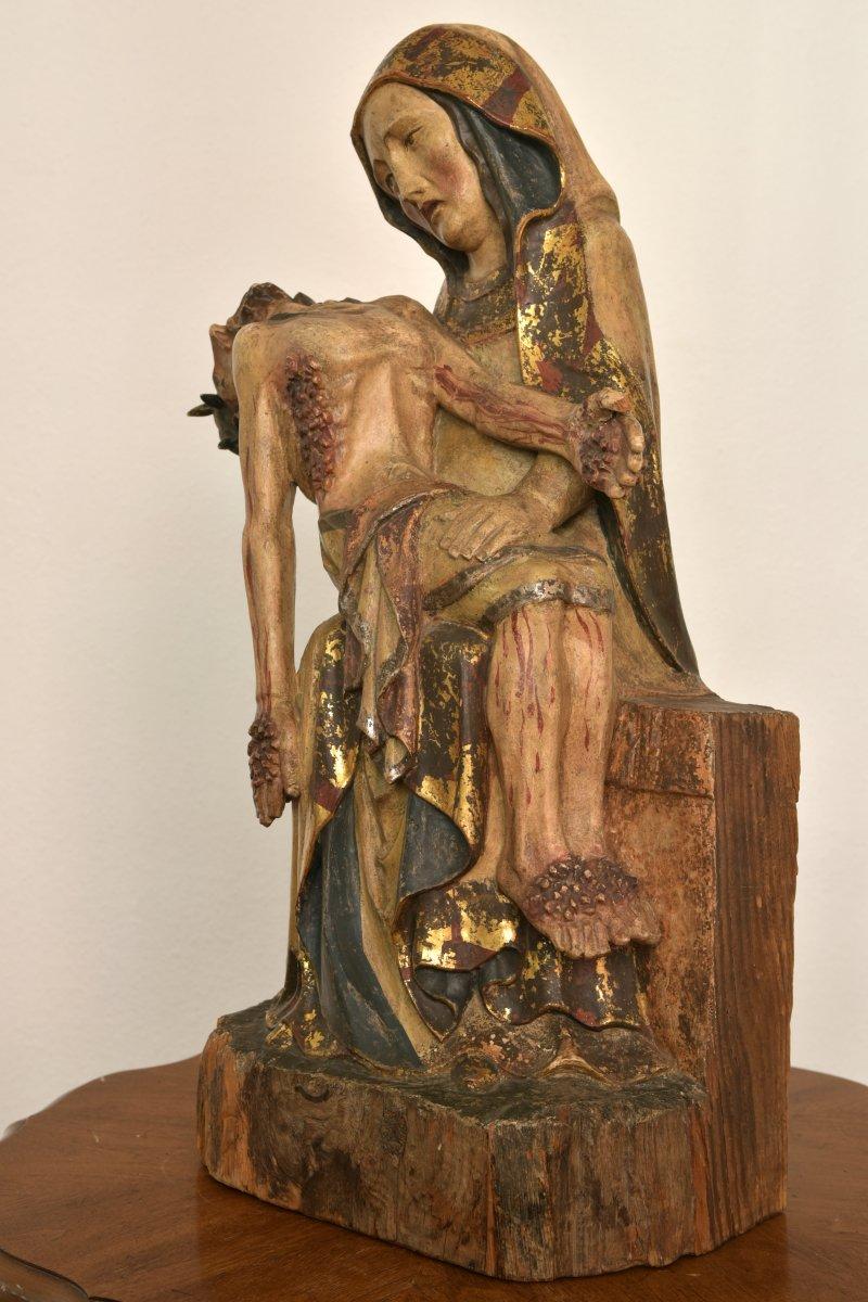 Pietà. Vesperbild. Allemagne XVIIIème.-photo-4
