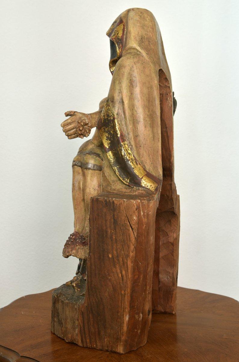Pietà. Vesperbild. Allemagne XVIIIème.-photo-1