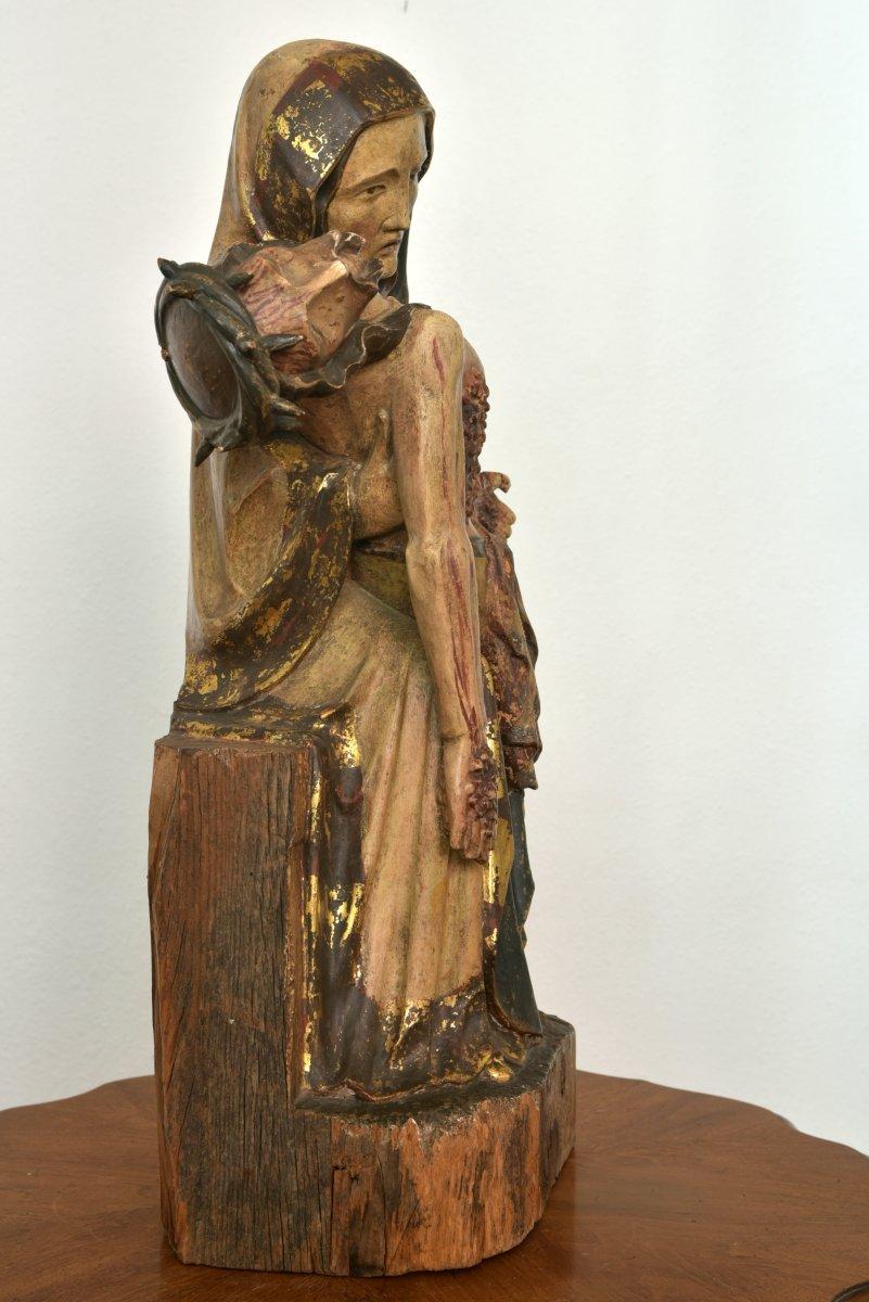 Pietà. Vesperbild. Allemagne XVIIIème.-photo-2