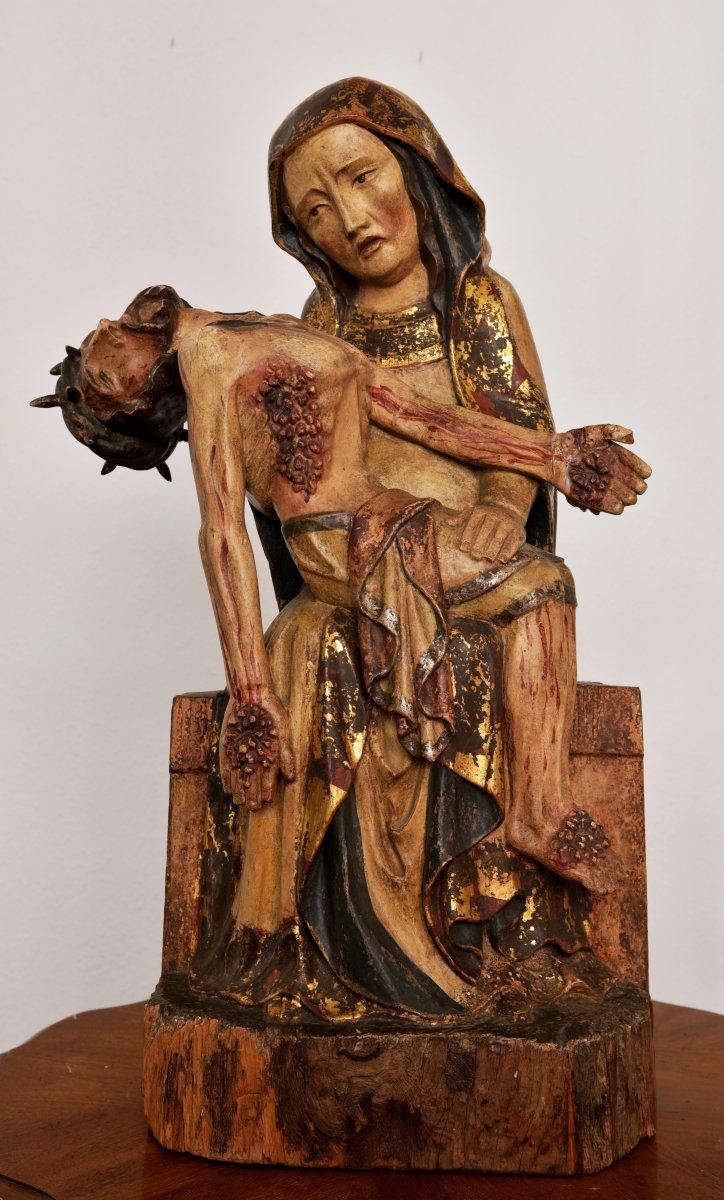 Pietà. Vesperbild. Germany XVIII E.