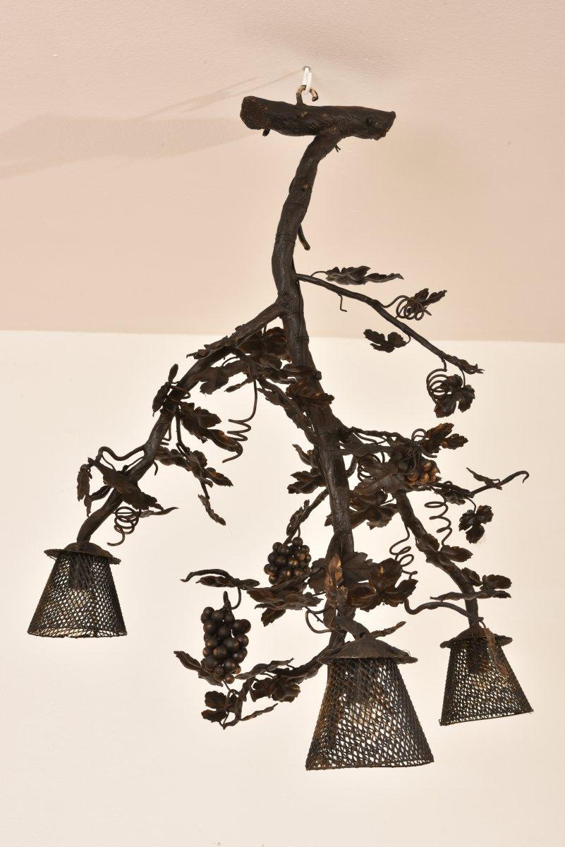 Vine Foot Lamp. Art Deco 1930.