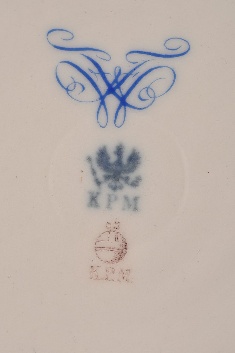 Kpm Berlin. Roi Friedrich Wilhelm IV.  1795-1861.-photo-2