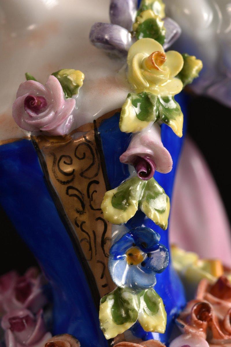 Aelteste Volkstedt. Die Rosendame. La Dame Aux Roses.-photo-5