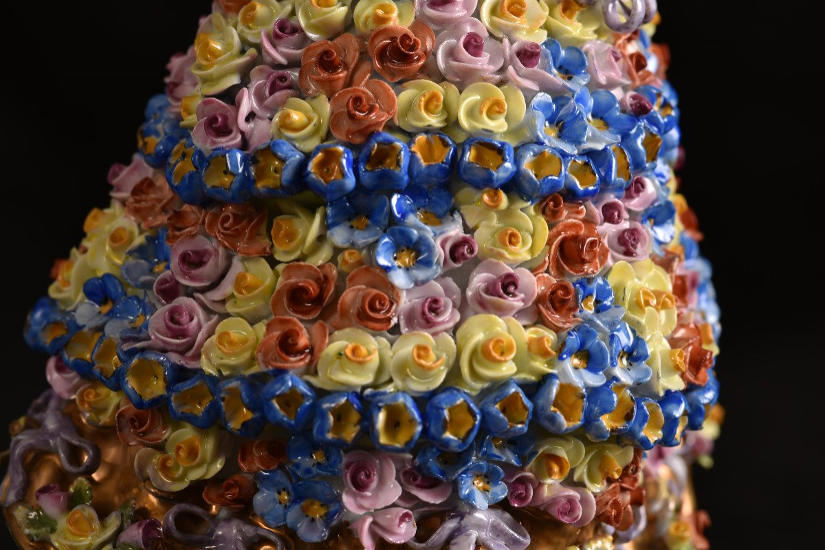 Aelteste Volkstedt. Die Rosendame. La Dame Aux Roses.-photo-7