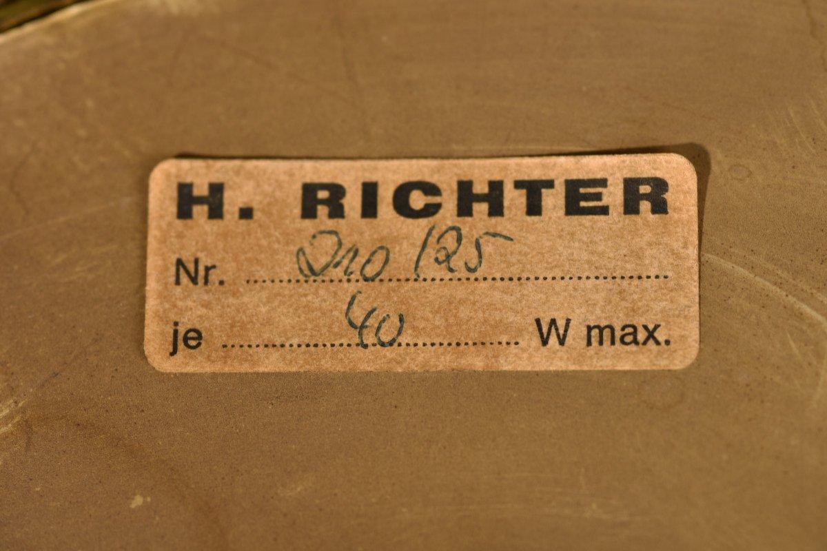 Plafonnière Design. Emil Stejnar Pour H. Richter. -photo-5