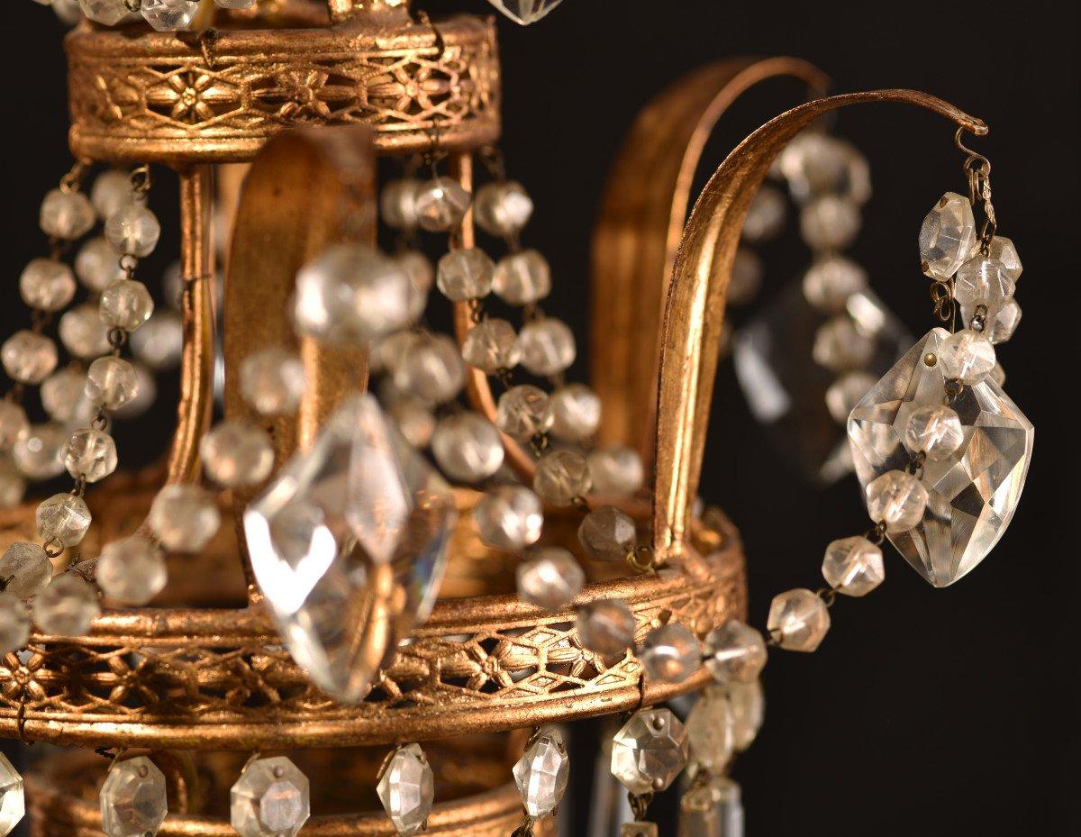 Lustre Corbeille. Marie-antoinette. Style Louis XVI.-photo-3