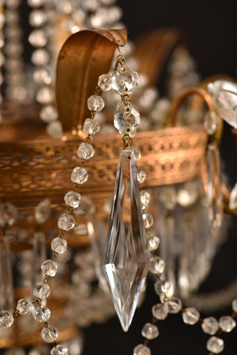 Lustre Corbeille. Marie-antoinette. Style Louis XVI.-photo-4