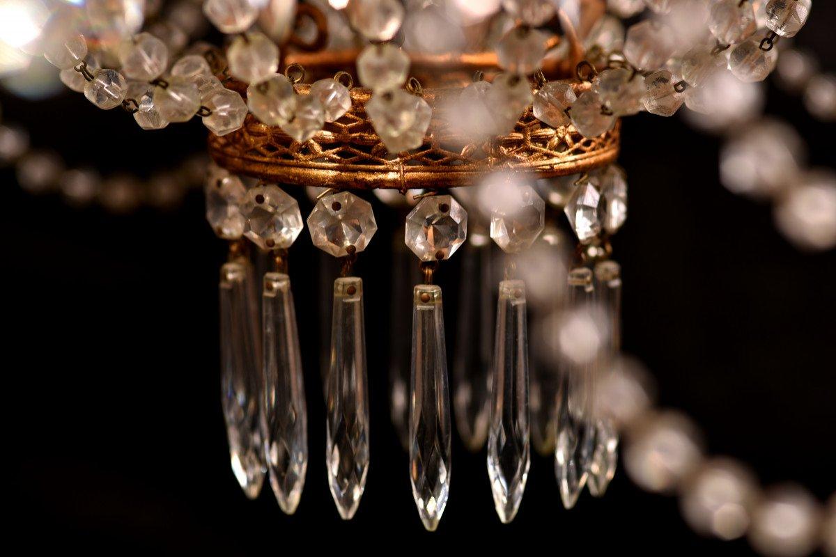 Lustre Corbeille. Marie-antoinette. Style Louis XVI.-photo-5