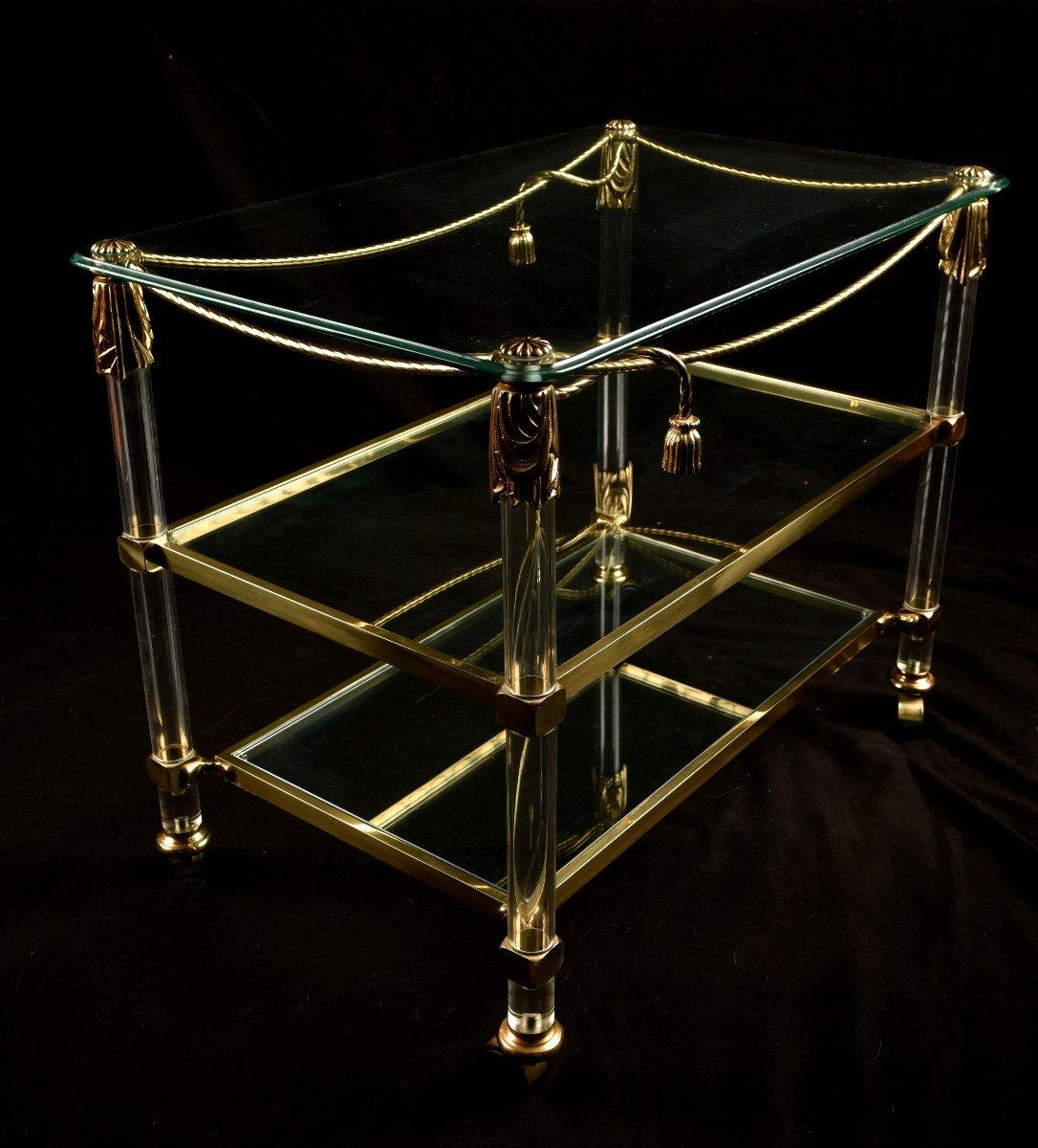 Table Roulante. Desserte. Bar Roulant XXème-photo-1
