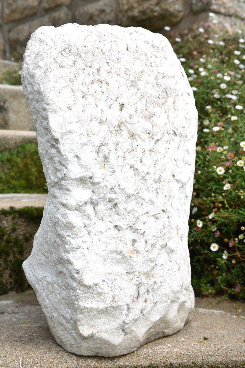 Sculpture En Marbre De Cararre XXème. Achille Fidi.-photo-7