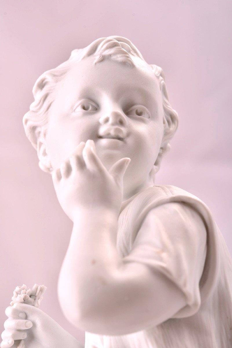 Deux Sculptures En Biscuit Signées. Napoléon III.-photo-1