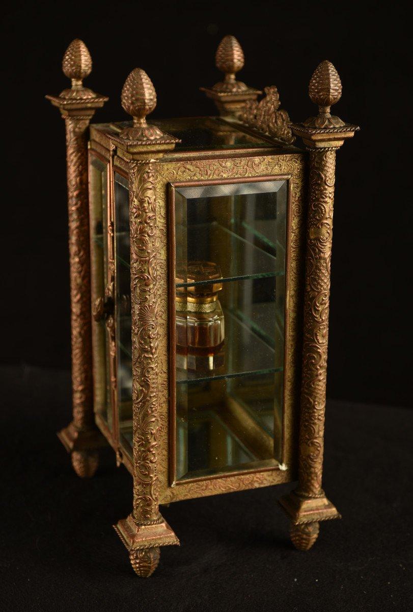 Vitrine Miniature Aux Verres Biseautés. 1880.-photo-4