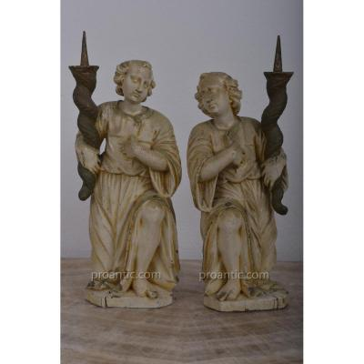 Paire D´anges XVIII. Allemagne