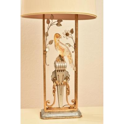 Parrot Lamp. Italy. Banci. Year 60.