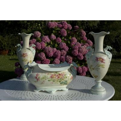 Delphin Massier. Vallauris. 1890-1900. Ceramic.