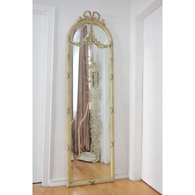 Miroir d'Entre Deux. Jugendstil. Style Louis XVI.