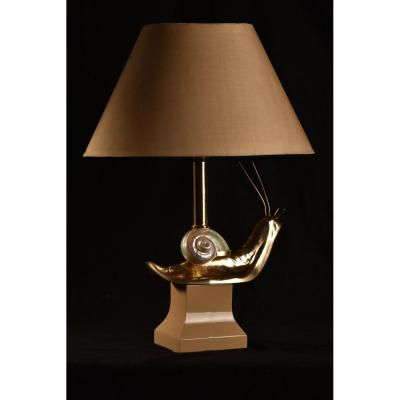 Snail Lamp From The 60s.