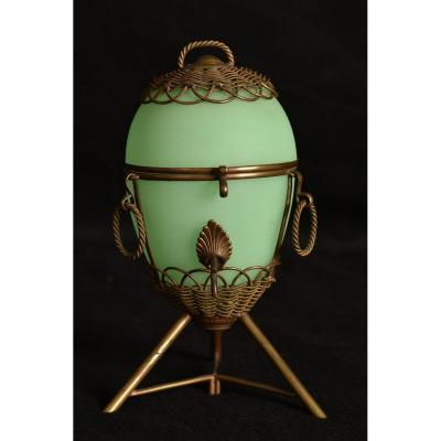 Opaline Egg. XIXth.