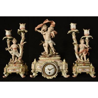 Fireplace Trim. Art Nouveau. Germany.