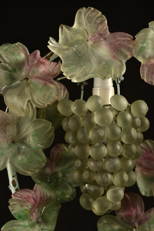 Lampe Murano. Grappe De Raisin. Cesare Toso-photo-3