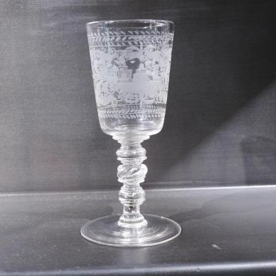 Verre vin service verre ancien sur proantic - Oiseaux lalique prix ...