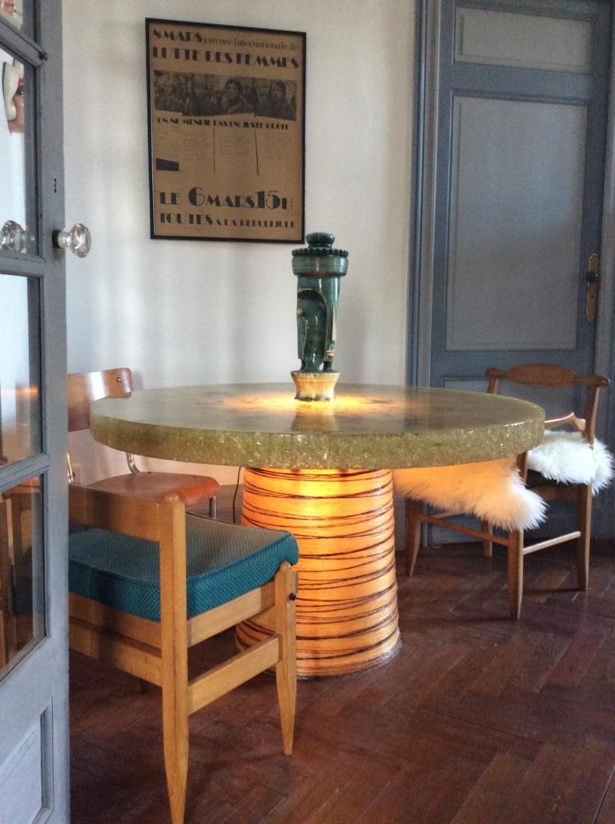 Exceptionnelle Table De Salle à Manger - Accolay