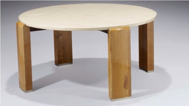 Table Basse Attribuée à Louis Sognot