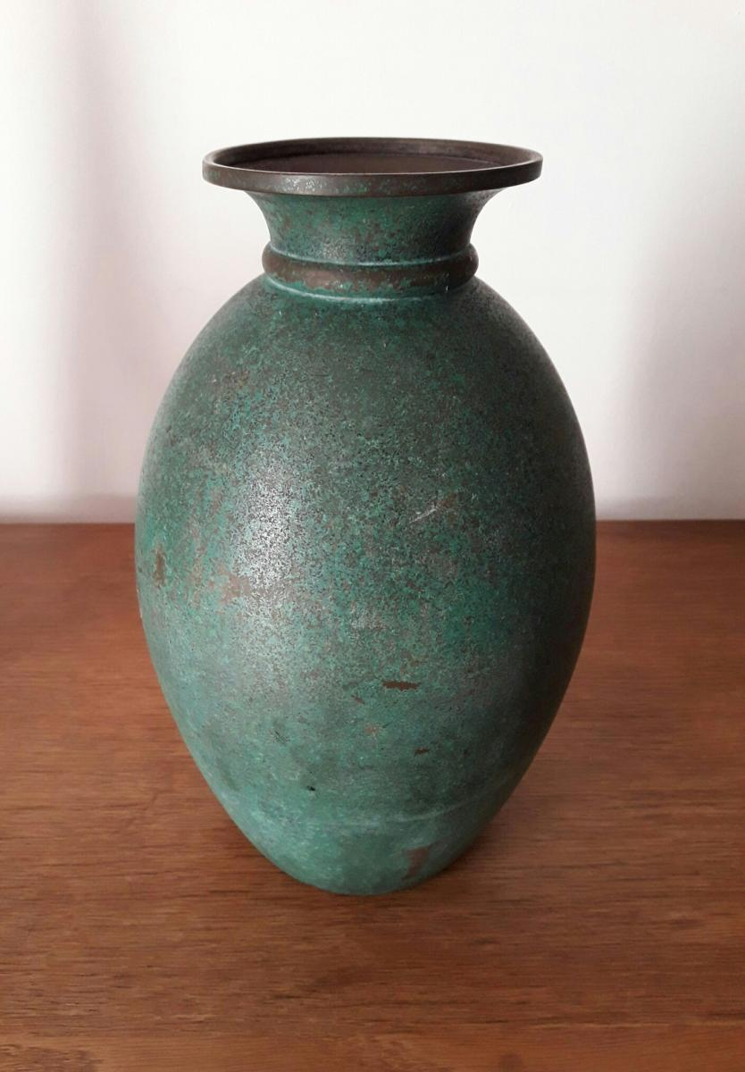 Luc Lanel Vase For Christofle